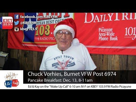 Burnet VFW Pancake Breakfast coming up Dec. 13