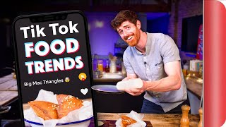 A Chef Tests and Reviews TIK TOK Food Trends by SORTEDfood