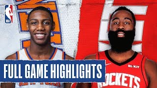 KNICKS at ROCKETS   FULL GAME HIGHLIGHTS   February 24, 2020 by NBA