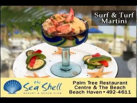 Sea Shell Palm Tree Restaurant