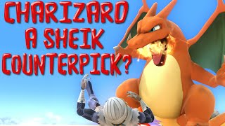 Is charizard a counter pick to sheik?