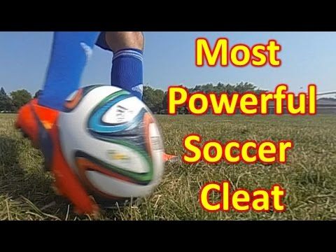 soccer - What Is The Most Powerful Soccer Cleat/Football Boot? Go to http://soccerreviewsforyou.com/ to see full written reviews on all your favorite soccer gear alon...