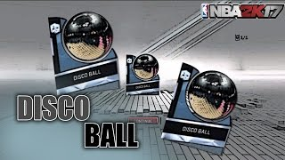 Whats good youtube, this video will show you how to get the diamond disco ball to play with in NBA 2K17 MyTEAM. Be sure to like and subscribe.--------------------Music Used- https://www.youtube.com/user/atticstein/videos