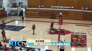 Rochester High School Volleyball vs Lewis Cass