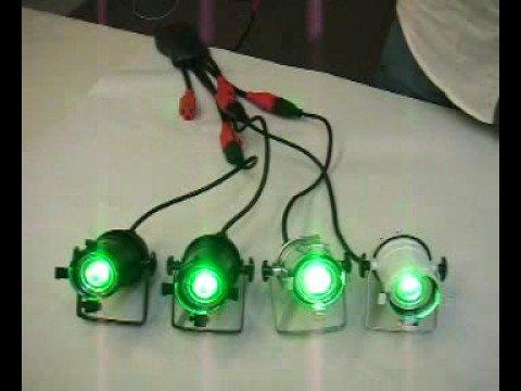 Par 16 with LED light bulbs