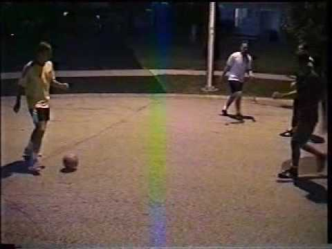 Street Soccer Orland Park summer of 2003 Cul De Sac Federation Skills Tricks and Bloopers