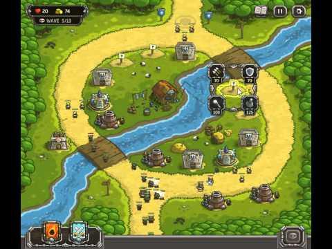 Kingdom Rush Walkthrough Level 4