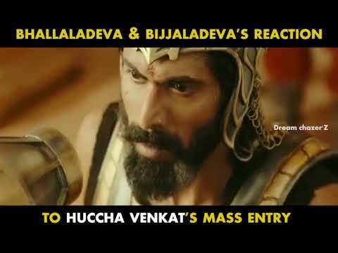 Video Bhallaladeva reaction to Huccha venkat download in MP3, 3GP, MP4, WEBM, AVI, FLV January 2017
