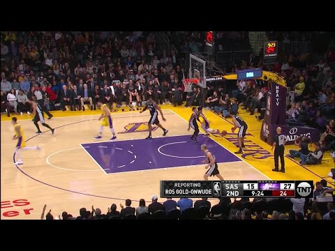 2nd Quarter, One Box Video: Los Angeles Lakers vs. San Antonio Spurs