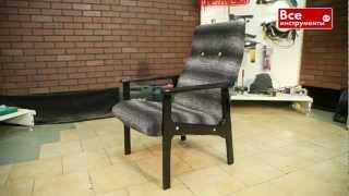 Как обновить старое кресло своими руками