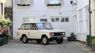 Range Rover 'Classic' Velar Prototype