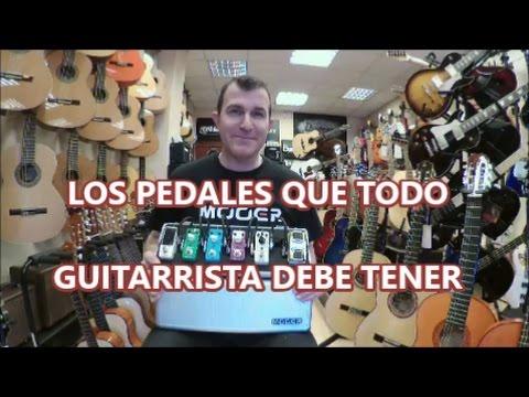 Los Pedales que todo guitarrista debe tener [TOP 6]