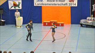 Christina Bischoff-Moos & Lukas Moos, - Landesmeisterschaft Rheinland- Pfalz 2014