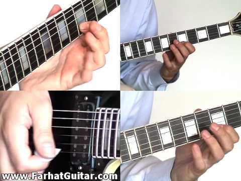 Molinos de Viento -Mago de OZ Guitarra Cover  Parte 3 www.Farhatguitar.com