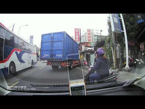 泰山泰林路二段機車追撞(資源回收場前)