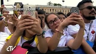 Segundo día del Papa Francisco en Colombia