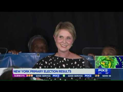 New York primary results