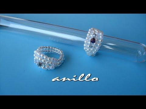 DIY - Anillo de perlas minis - Pearl ring minis