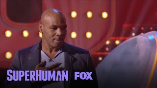 Mike Tyson asks to learn some new dance moves then shows the audience some of his own.Subscribe now for more Superhuman clips: http://fox.tv/SubscribeFOXWatch more videos from Superhuman: http://fox.tv/SuperhumanSeason1PlaylistSee more of Superhuman on our official site: http://www.fox.com/superhumanLike Superhuman on Facebook: http://fox.tv/SuperHuman_FBFollow Superhuman on Twitter: http://fox.tv/SuperHuman_TWFollow Superhuman on Instagram: http://fox.tv/SuperHuman_IGLike FOX on Facebook: http://fox.tv/FOXTV_FBFollow FOX on Twitter: http://fox.tv/FOXTV_TwitterAdd FOX on Google+: http://fox.tv/FOXPlusGet ready to have your mind blown when SUPERHUMAN returns Monday, June 12 (9:00-10:00 PM ET/PT) on FOX. Hosted by actor Kal Penn, this jaw-dropping one-hour competition series will test the abilities of ordinary people to use their extraordinary skills to win a $50,000 grand prize. In each episode, five contestants who possess a distinct, nearly super-human ability in fields such as memory, hearing, taste, touch, smell, sight and more are challenged to push their skills to the limit, yet only one will take home the title of SUPERHUMAN and the $50,000 grand prize.Mike Tyson Gets A Dance Lesson  Season 1 Ep. 7  SUPERHUMANhttp://www.youtube.com/FoxBroadcasting