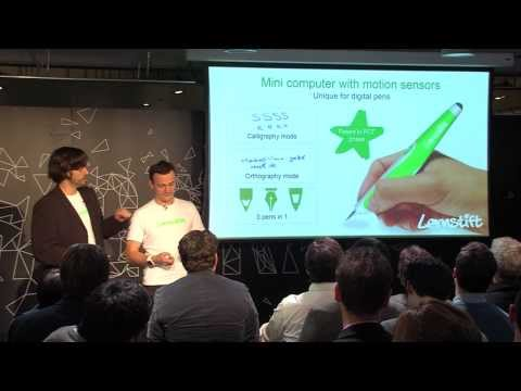Lernstift - Wayra Global demoDay 2013 (видео)