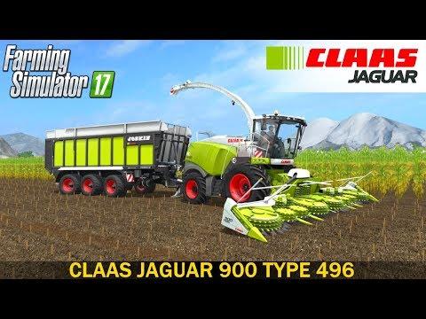 Claas Jaguar 900 Type 496 v1.0.0.0