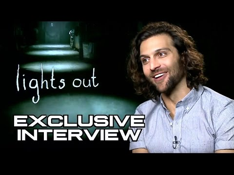 "Alexander Dipersia Exclusive Interview For ""Lights Out"" Movie"