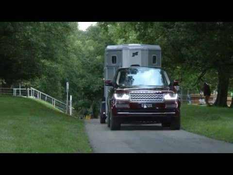 Practical Caravan on Land Rover's Transparent Trailer
