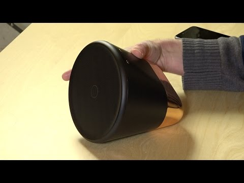 Aether Cone Review - Wireless speaker that works with Rdio and Apple Air Play