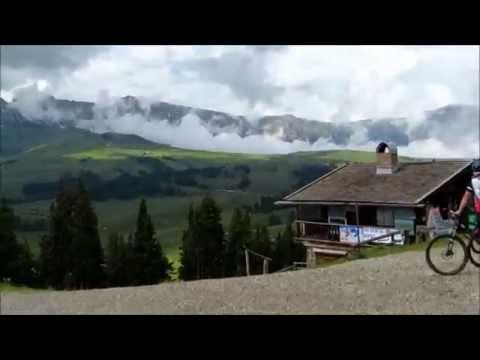 Путешествие на велосипеде по  Доломитовым Альпам. Лето 2014 года. день первый (видео)