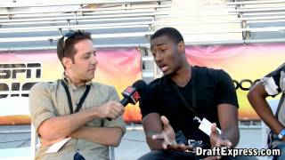 John Wall Post Game Commentary at the 2010 Boost Mobile Elite 24