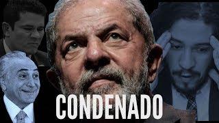 Fábio Rabin - Lula Condenado / Jean Wyllys bolado / Temer denunciado