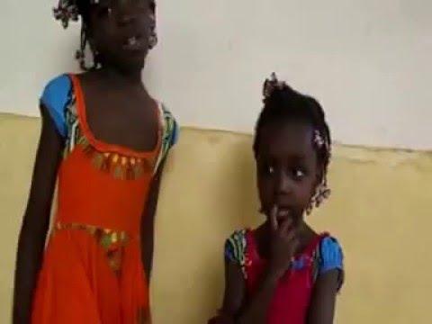 Sara e Lidia em Muana Nkongo