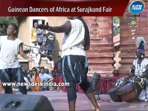 Guinean Dancers from Africa at Surajkund