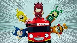 Oddbods Toys with Racing Cars   Oddbods Cars   Kids Toys   ABC Toys