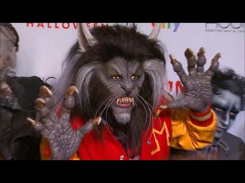 Heidi Klum Rocks Terrifying Michael Jackson 'Thriller' Werewolf Costume -- See The Look! (Exclusi…