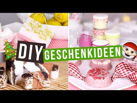 DIY GESCHENKIDEEN für WEIHNACHTEN / CHRISTMAS - Body Butter, Bath Bombs, Seifen, ... - #allyemXMAS