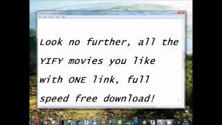 Nonton YIFY 720p Movies, one link, full speed FREE download! Film Subtitle Indonesia Streaming Movie Download