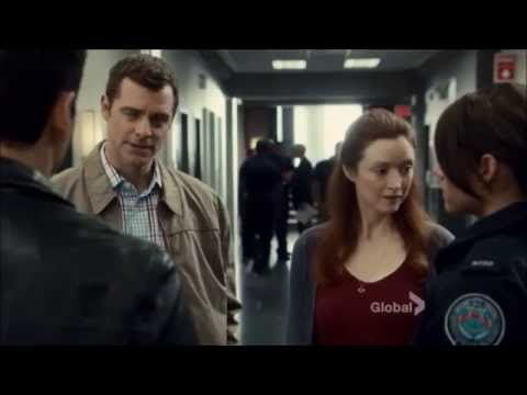Rookie Blue 6x2 Sam and Andy Chat with Hayley's Parents