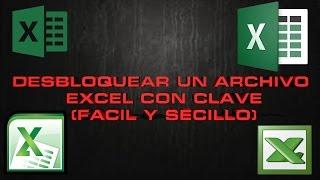 Video extra Desbloquear un archivo de Excel con clave FÁCIL Y SENCILLO