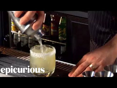epicuriousdotcom - Mixologist Eben Freeman, of Tailor restaurant in New York City, demonstrates how to prepare a variation on the classic Margarita cocktail.