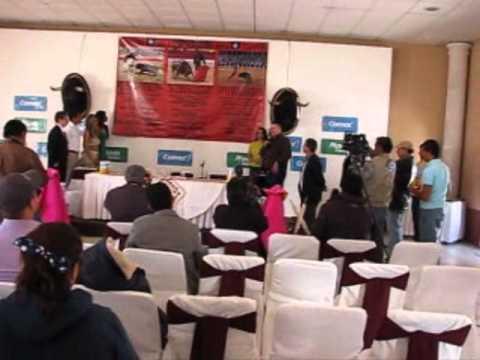 Presentación Cartel Taurino 2011-2012 Tlaltenango, Zac.