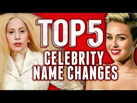lady gaga - On today's Top 5, we're counting down our favorite celebrities who have changed their names! For more ClevverTV shows ▻▻ http://ow.ly/ktrcX Top 5 Pant Sagger...