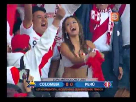 Copa América Nissu Cauti, la 'novia' de la selección, mostró