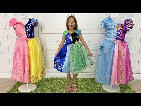 София и Принцессы хотят одно и тоже Платье для конкурса Красоты видео