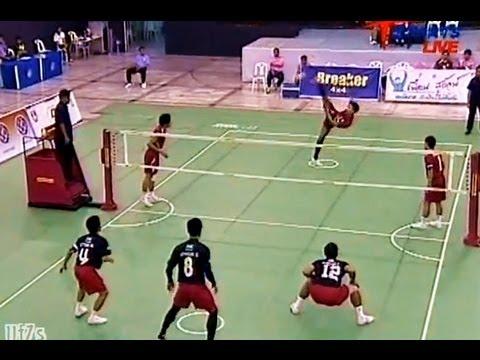 Nakhon Ratchasima - Bangkok Takraw Thailand League 2012 (2nd)