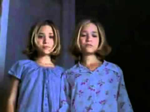 Mary Kate and Ashley Passport To Paris balcony scene