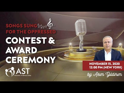 SONGS SUNG FOR THE OPPRESSED CONTEST & AWARD CEREMONY