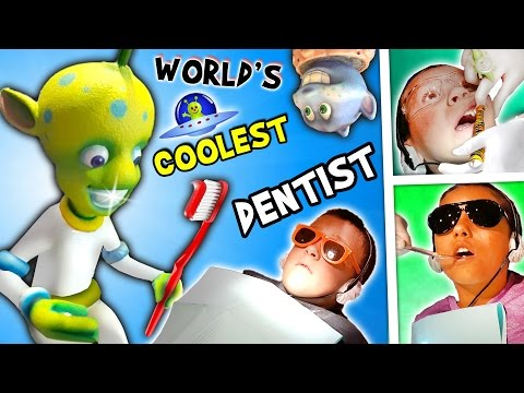 WORLD'S COOLEST DENTIST!! Outer Space Cavities Search / Stormy Tooth / Wisdom (FUNnel Vision Vlog)