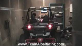 6. 2011 RZR XP 900 DYNO STOCK VS OPEN INTAKE OPEN EXHAUST