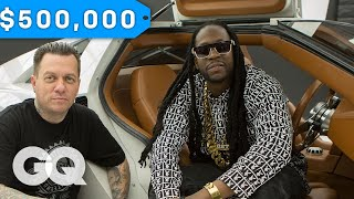 Download Youtube: 2 Chainz Geeks Out Over a $500K DeLorean by West Coast Customs | Most Expensivest Shit
